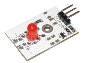 Модуль светодиода красный